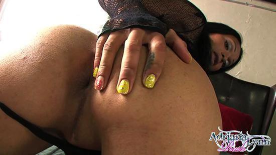 Adriana Lynn Rush in heels