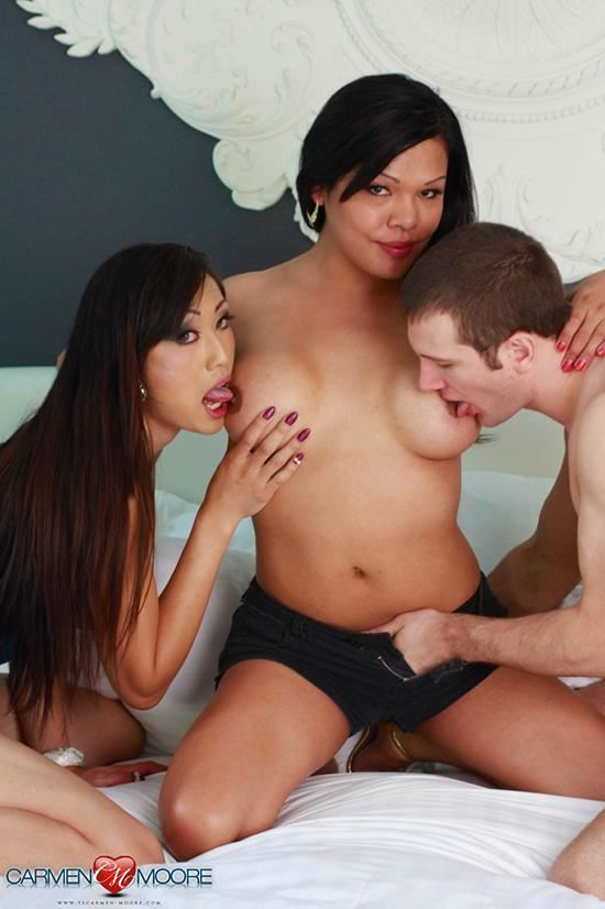 Carmen Moore threesome